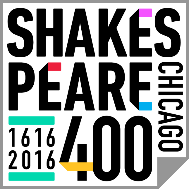 Shakespeare 400 Chicago logo