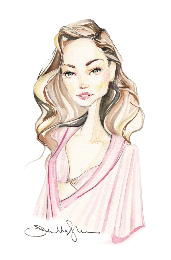 Look of Show 2015. illustration by Dallas Shaw-