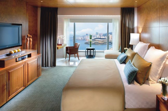 Mandarin Oriental, Hong Kong Harbor Room