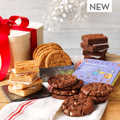NEW! Sweet Home Classic Holiday Brownie  Cookie Gift