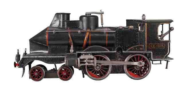 Märklin5-gauge locomotive, 1905. New-York Historical Society, The Jerni Collection.