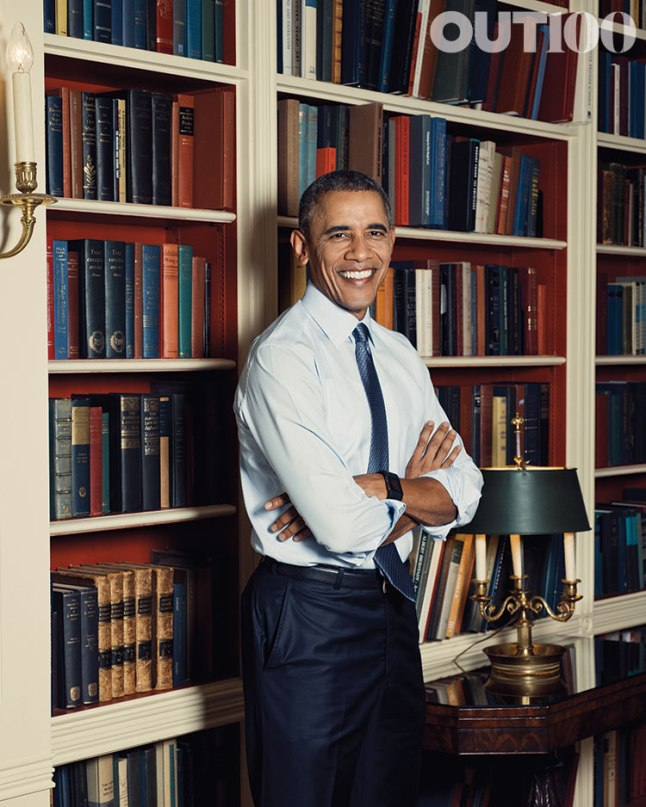 President Barack Obama in the White House Library on October 5, 2015. Photo Credit: Ryan Pfluger