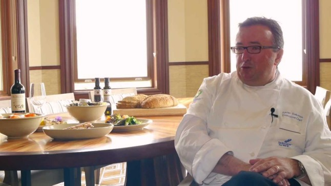 The Ritz-Carlton, Half Moon Bay Executive Chef Xavier Salomon, and only the second in The Ritz-Carlton Hotel Company to earn the title Maître Cuisinier de France (French Master Chef).