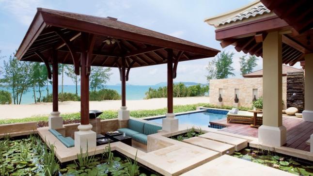 Ritz-Carlton Sanya, Yalong Bay (Hainan). Pristine beaches, rainforests and the clear South China Sea.