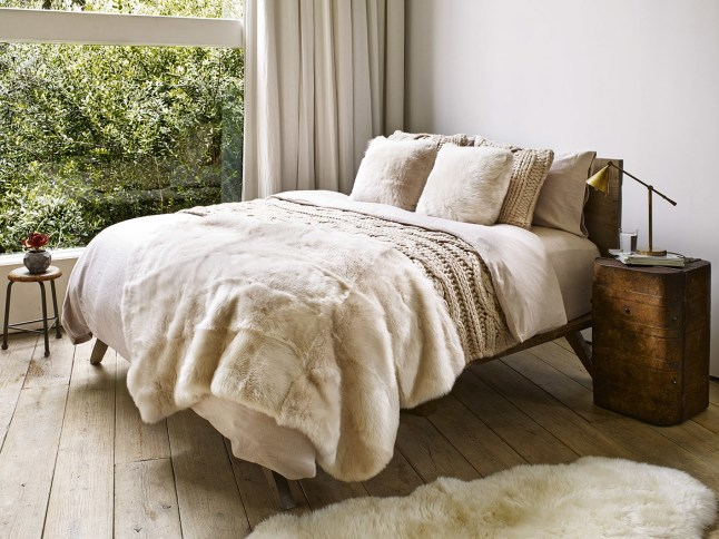 UGG Toscana Blanket Most Luxurious Gift Of The Holidays (PRNewsFoto/UGG)
