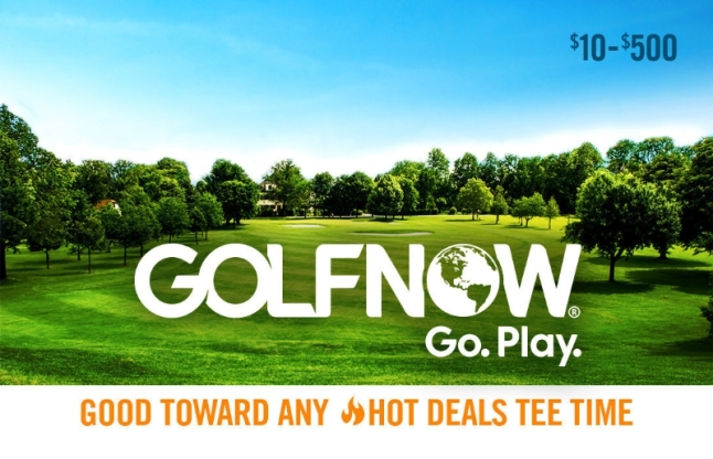 Giving the gift of golf is as easy as a click of the mouse with GolfNow Go Play Gift Cards. Visit www.GolfNow.com to order. (PRNewsFoto/GolfNow)