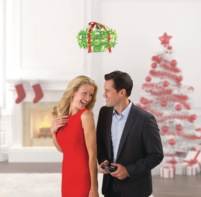 Hammacher Schlemmer The Mistletoe Drone. Visit us at 147 E 57th Street, between Lexington and Third Avenue. (PRNewsFoto/Hammacher Schlemmer)