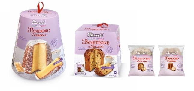 Bauli seasonal cakes. (PRNewsFoto/Bauli)
