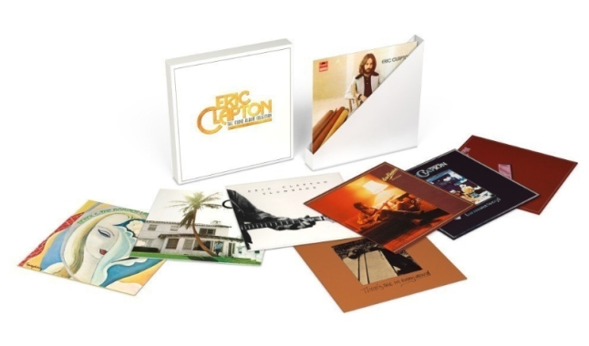 Eric Clapton: The Studio Album Collection 1971-1980, 8 ALBUM VINYL BOX SET, JANUARY 29, 2016 (PRNewsFoto/Universal Music Enterprises)
