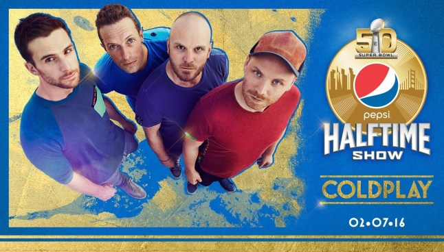 Coldplay Is The First Artist To Be Confirmed For Pepsi Super Bowl 50 Halftime Show February 7 On CBS (PRNewsFoto/National Football League)