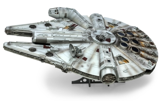 Millennium Falcon 904-piece model by Revell, Inc. (PRNewsFoto/Revell Inc.)