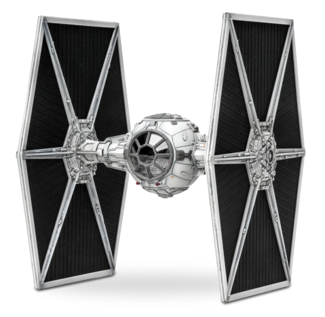 Tie Fighter 43-piece model by Revell, Inc. (PRNewsFoto/Revell Inc.)