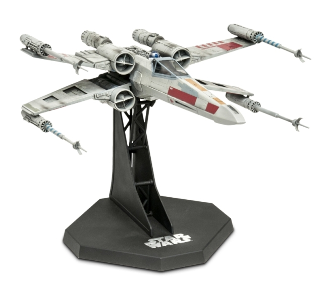 X-Wing Fighter 141-piece model by Revell, Inc. (PRNewsFoto/Revell Inc.)