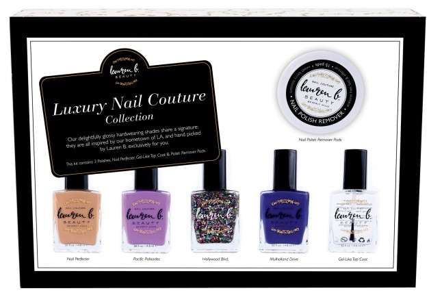 LAUREN B. THE LUXURY NAIL COUTURE COLLECTION