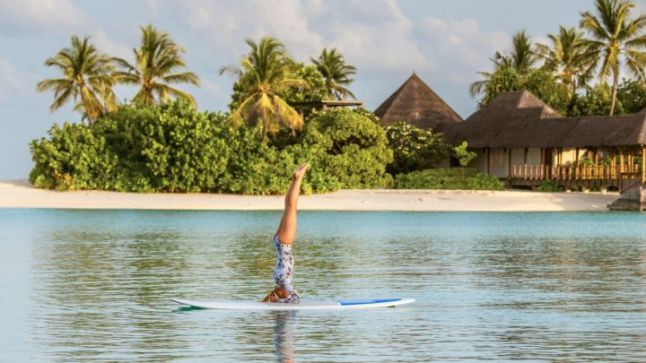 Stand Up Paddleboard Yoga
