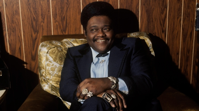 Singer-songwriter Fats Domino (b. Feb. 26, 1928), 1970. Photo: Getty Images.