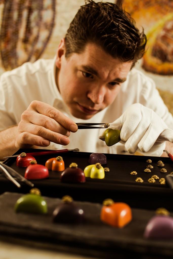 The Peninsula's Maître Chocolatier Marijn Coertjens