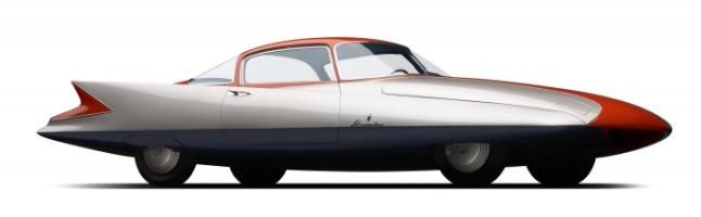 1955 Chrysler Ghia Gilda. Collection of Scott Grundfor and Kathleen Redmond. Photograph © 2016 Michael Furma