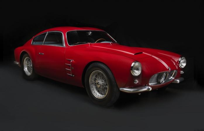 1956 Maserati A6G 2000 Zagato. Collection of David Sydorick. Image © 2016 Peter Harholdt