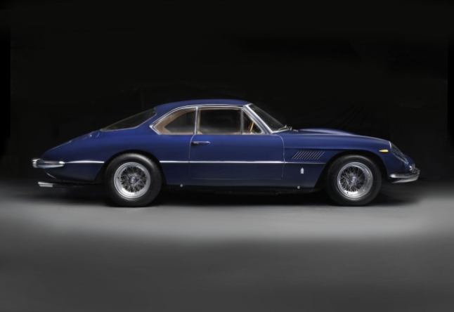 1961 Ferrari 400 Superamerica Pininfarina Series II Aerodinamico. Collection of Bernard and Joan Carl. Image © 2016 Peter Harholdt