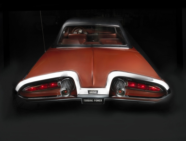 1963 Chrysler Turbine Car. Collection of FCA. Image © 2016 Peter Harholdt