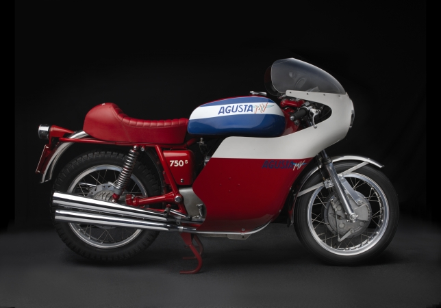 1973 MV Agusta 750 America. Collection of Peter Matthew Calles. Image © 2016 Peter Harholdt