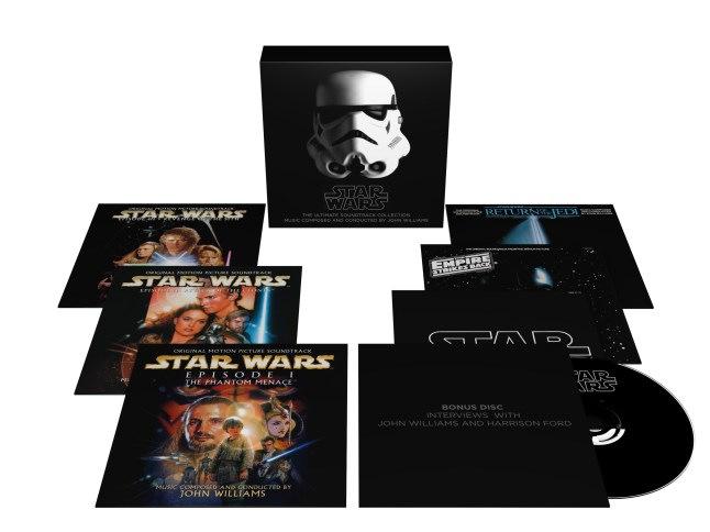 Star Wars: The Ultimate Soundtrack Collection (10 CDs plus DVD) - available now (PRNewsFoto/Sony Classical)