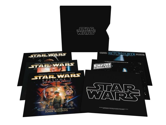 Star Wars: The Ultimate Vinyl Collection (11 LPs) - available now (PRNewsFoto/Sony Classical)