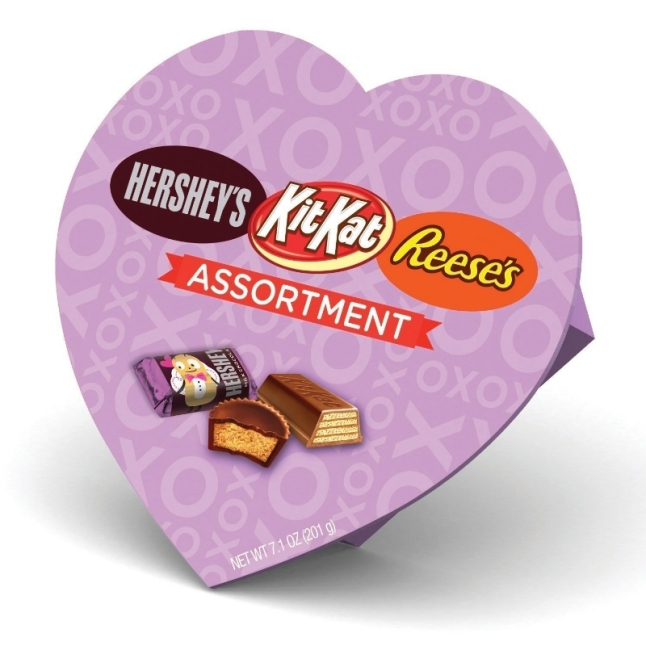 The Hershey Company Assortment Heart Box