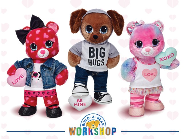 Build-A-Bear Workshop Sweet Hugs Group