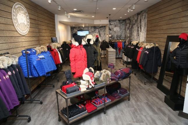 Canada Goose Pop-Up Shop