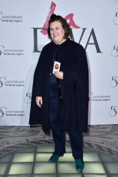 PARIS, FRANCE - JANUARY 26: Suzy Menkes attends the Launch Of The New Fragrance 'La Diva' And 50th Anniversary Of Emanuel Ungaro at Le Petit Palais on January 26, 2016 in Paris, France. (Photo by Pascal Le Segretain/Getty Images for Emanuel Ungaro)