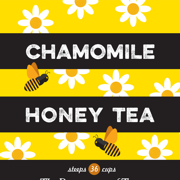 Chamomile-Honey-Label