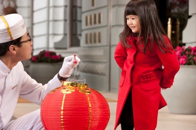 Chinese New Year - Girl with Lantern