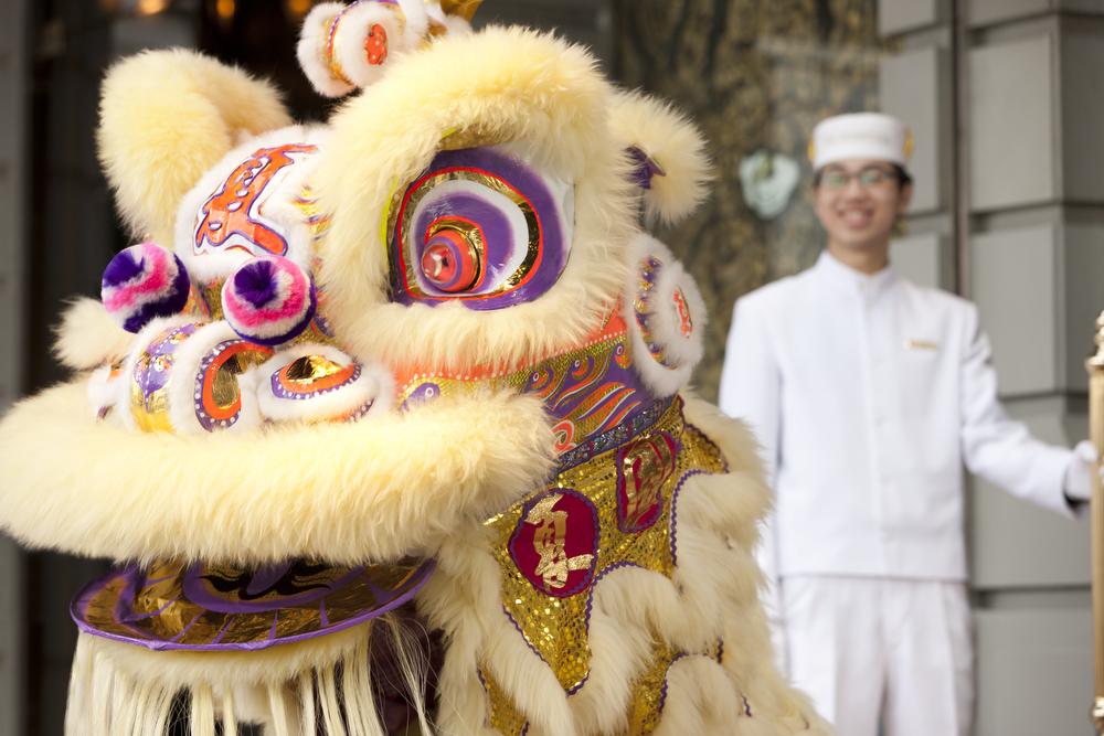 CNY Lion Dance