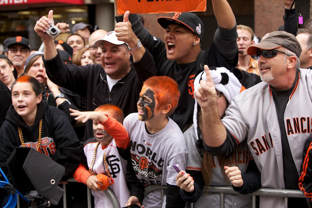 SF Giants 2012 World Series Parade