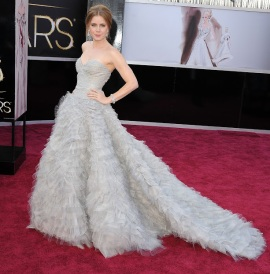 Actress Amy Adams at the Oscars