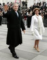 President George W. Bush and First Lady Laura Bush