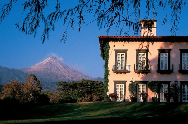 Hacienda_Volcan & Suites' Facade. Photo Credit: Mark Callanan/National Geographic Unique Lodges of the World