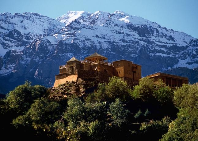 Photo courtesy  Kasbah du Toubkal, High Atlas Mountains, Morocco/
