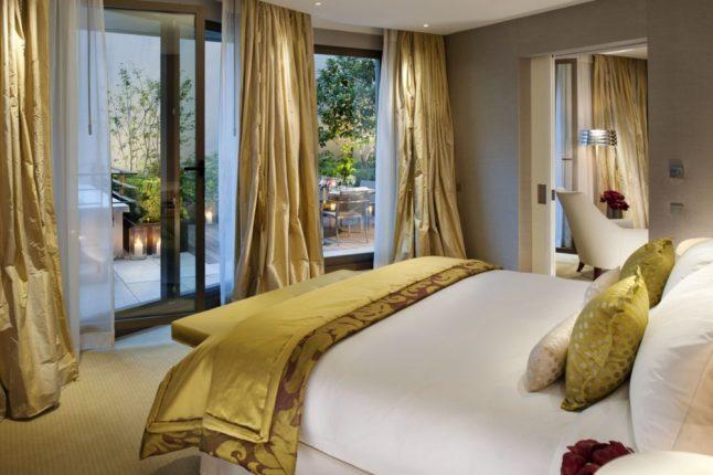 Mandarin Oriental, Paris Premier Suite Bedroom