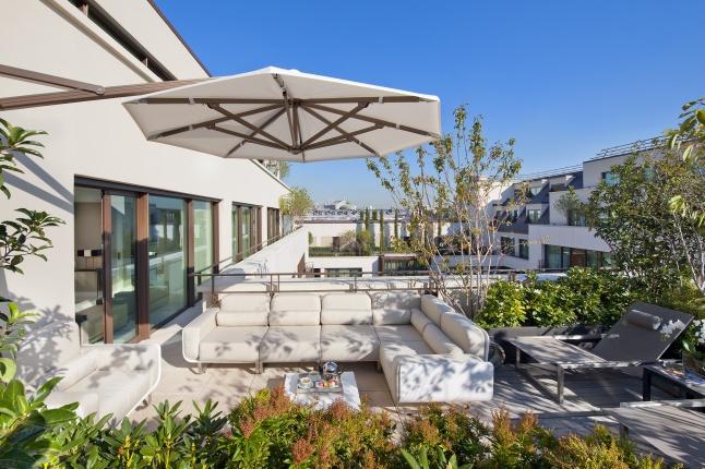 Mandarin Oriental, Paris Royale Suite Terrace