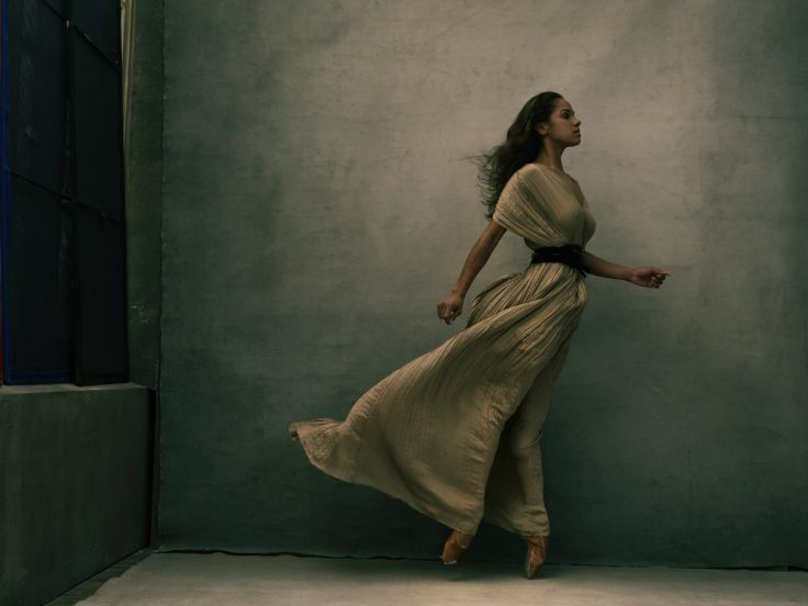 Misty Copeland, New York City, 2015 © Annie Leibovitz from WOMEN - New Portraits