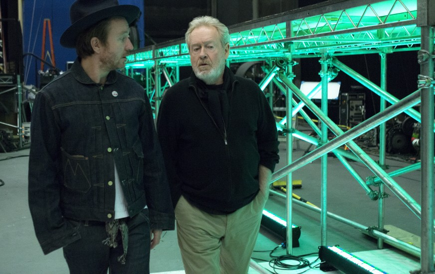 Jake Scott and Ridley Scott