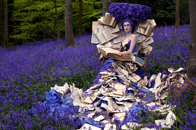 Kirsty Mitchell, The Storyteller, from the Wonderland series. Photograph © Kirsty Mitchell, www.kirstymitchellphotography.com