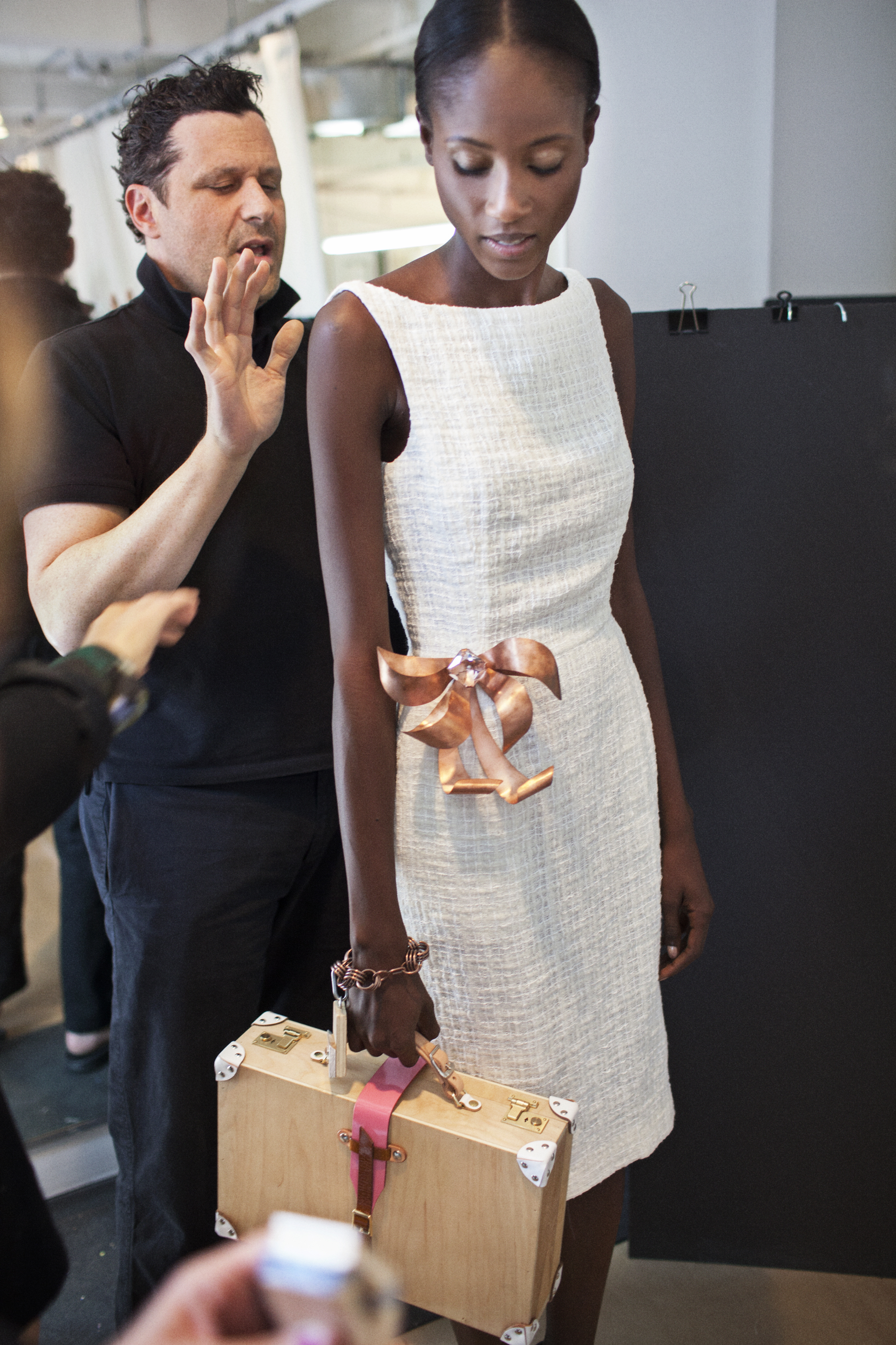 Isaac Mizrahi; Behind the Scenes; Collection: Spring 2010