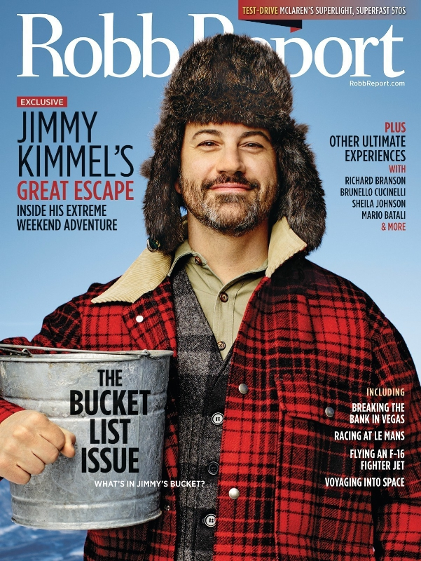Jimmy Kimmel - Robb Report