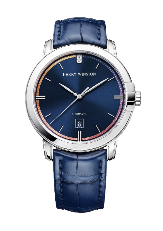 Harry Winston Countdown to a Cure Timepiece Mens