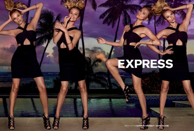 Express Inc Spring Campaign