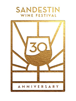 30th Sandestin Wine Festival Logo